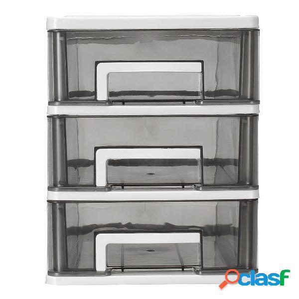 Mini custodia in plastica trasparente 3/4 Tiers Desktop