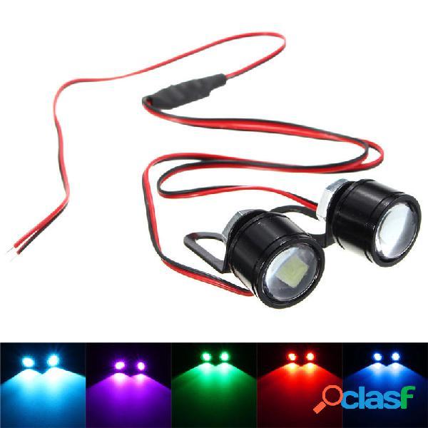 Pair 12V Spot Lightt LED Torcia elettrica torcia elettrica