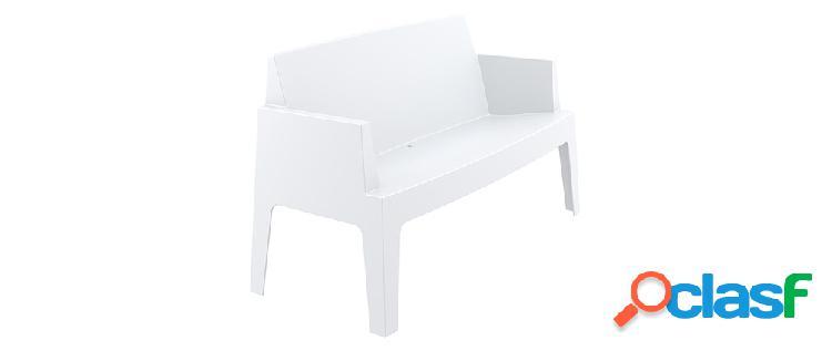 Panchina da giardino design colore bianco LALI