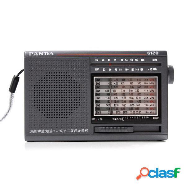 Panda 6120 FM MW SW Radio Lettore musicale portatile retrò