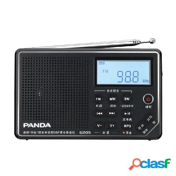Panda 6205 Portatile Radio FM MW SW DSP Sintonizzazione