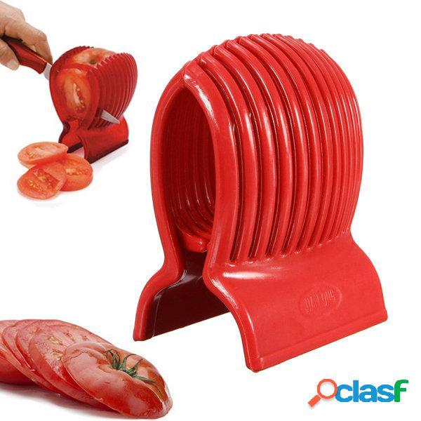 Pomodoro Cipolla Affettatrice verdura frutta cutter Holder