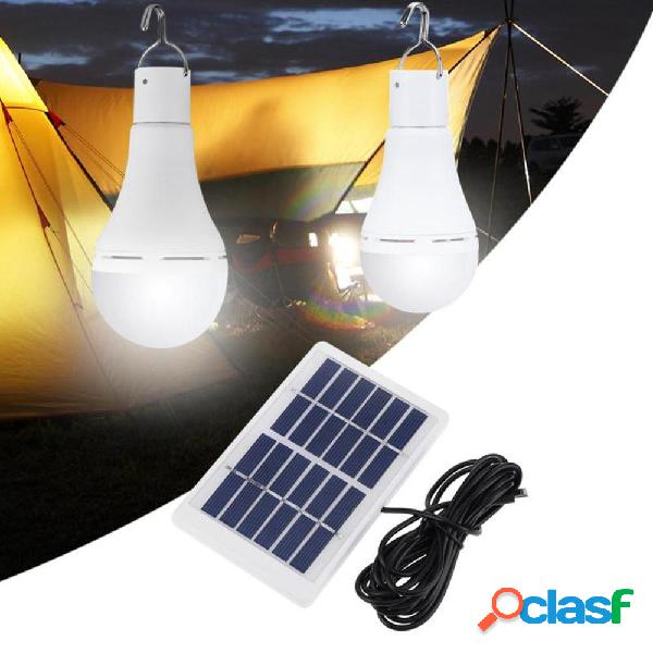 Portatile 7W solare Pannello USB ricaricabile campeggio
