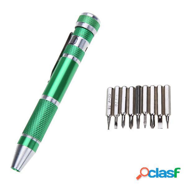 Pro'sKit SD-9814 9 in 1 maniglia in alluminio magnetico