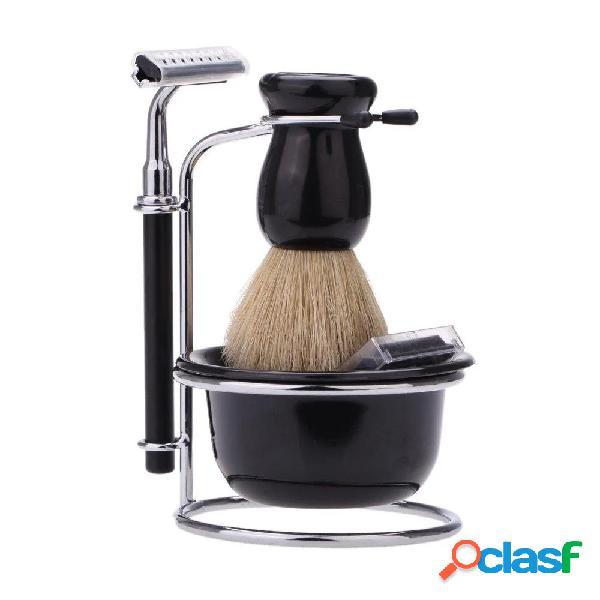 Rasoio da barba per la cura personale delluomo Pennello Set
