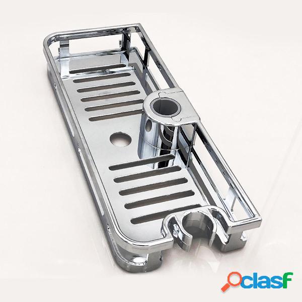 Scaffale per doccia per vasca da bagno Scaffale per doccia