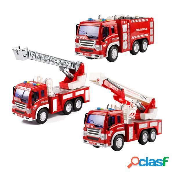 Scala estensibile 1:16 camion dei pompieri modellini auto