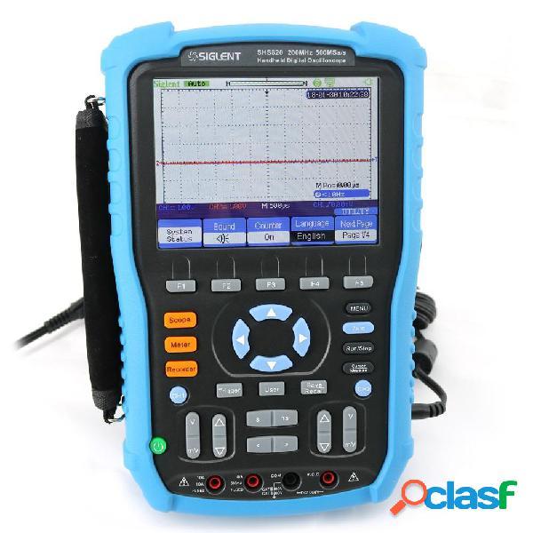 Siglent SHS820 digitale portatile oscilloscopio 2 canali