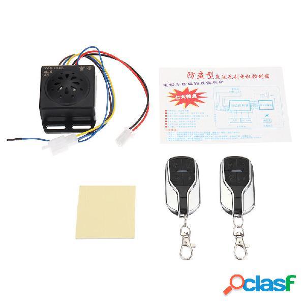 Sistema di allarme antifurto 48V ~ 60V 2 remoto Controllo