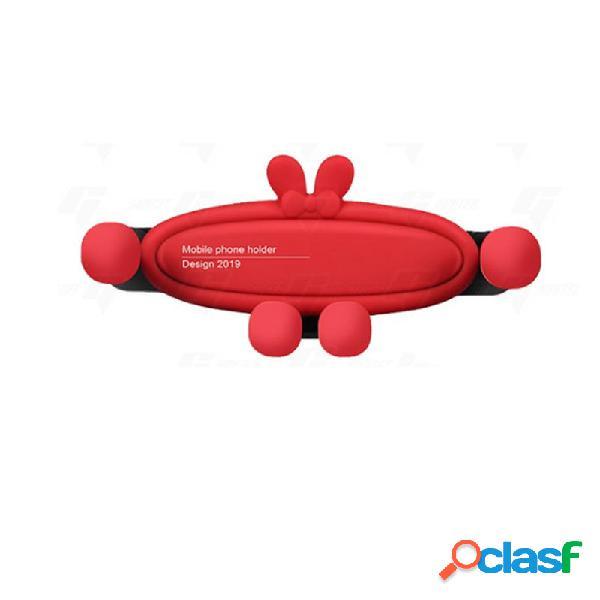 Staffa di sfiato aria supporto telefono cellulare universale