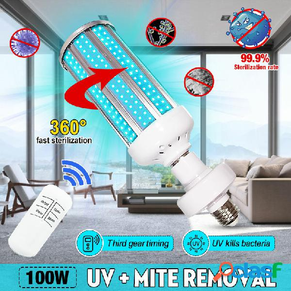 Sterilizzatore germicida 100W UV lampada LED UVC E27