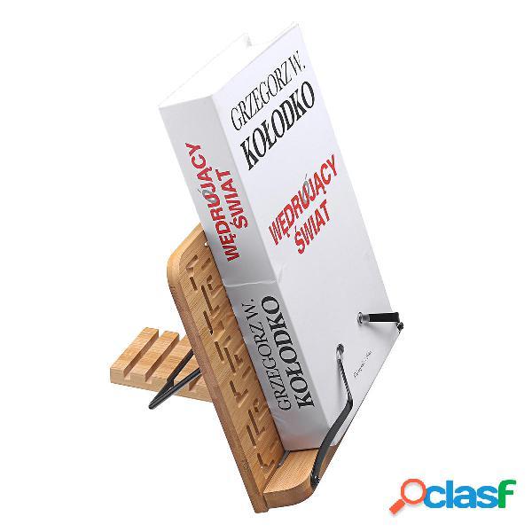 Supporto da tavolo in legno multifunzione da lettura