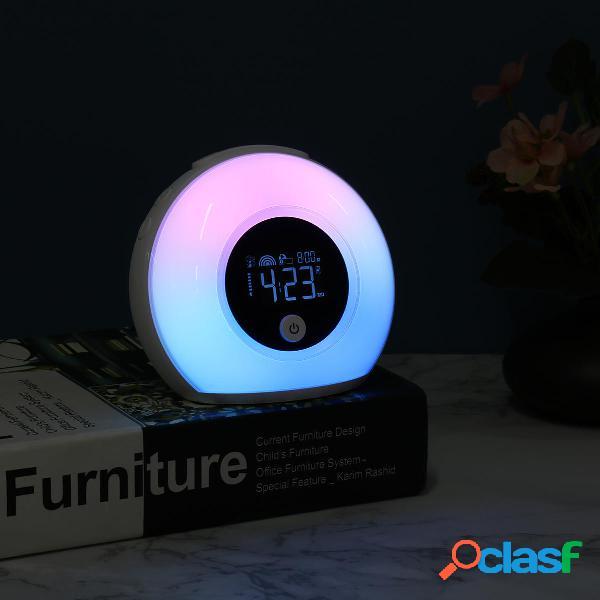 Sveglia a LED per bambini creativa creativa Sunrise Sveglia