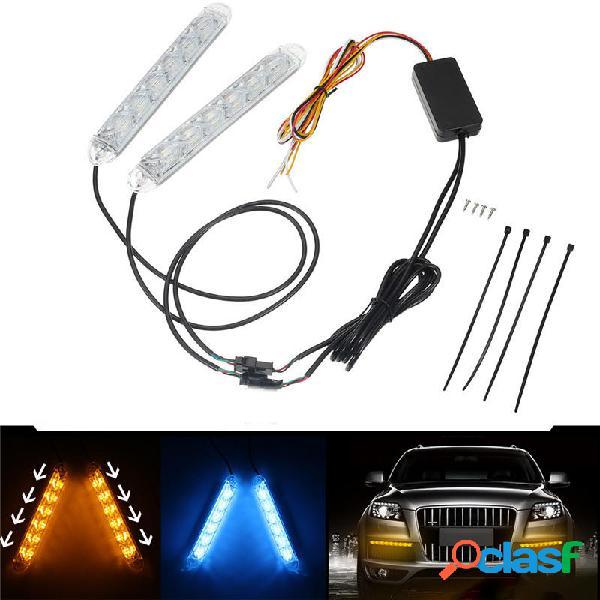 Switchback Faro principale LED Strip DRL Turn Signal Light