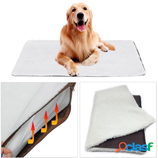 Tappetino lavabile termico in tessuto per animali domestici