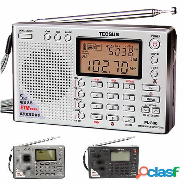 Tecsun pl-380 DSP PLL FM Mw dell'interruttore LW Radio SSB