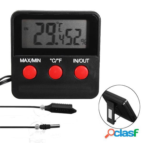 Termometro Igrometro Digitale con Sonda di Misurazione per