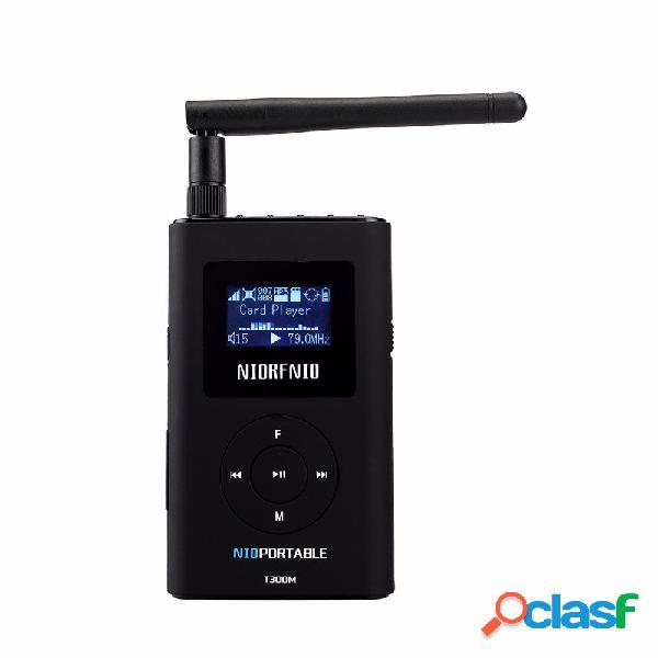 Trasmettitore stereo FM NIORFNIO T300M con trasmissione MP3
