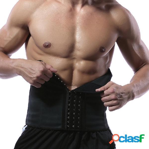 Uomo Plus Misura regolabile Cinturino di supporto Vita alta
