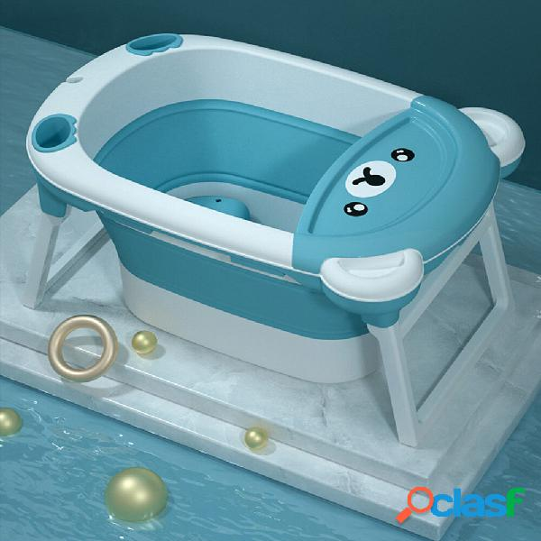 Vasca da bagno per bambini Vasca pieghevole Vasca da bagno