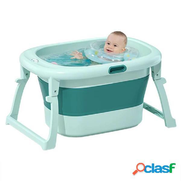 Vasca da bagno per bambini portatile con vasca pieghevole