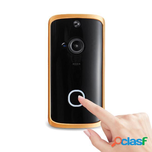 Wireless WiFi Video Campanello Audio bidirezionale Basso