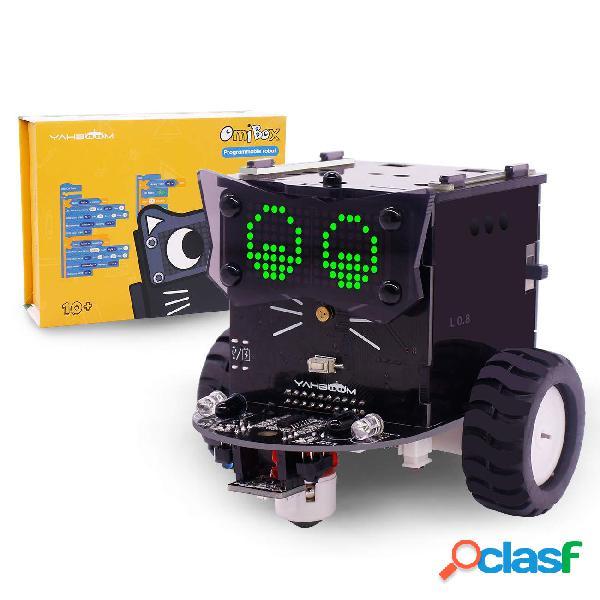 Yahboom Omibox Kit robot programmabile per bambini basato su