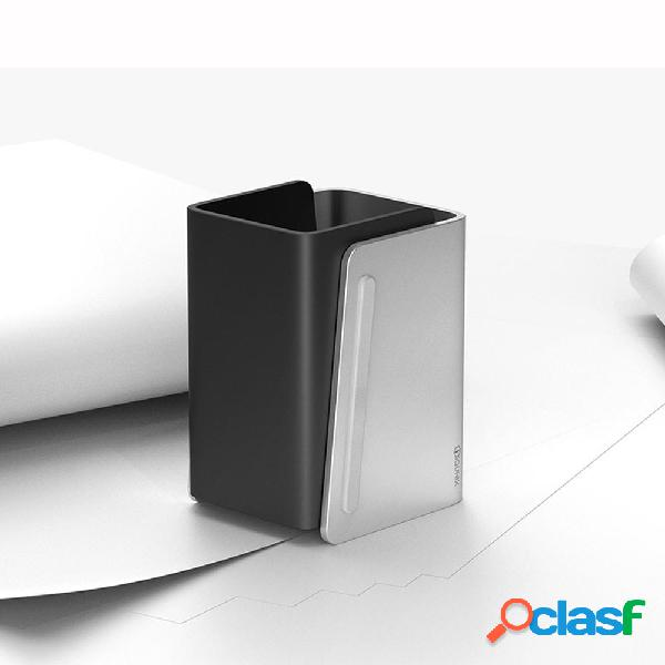 Zelo Lega di alluminio Pennello Pot Pen Contenitore Home