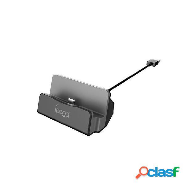 iPega Type-C Supporto per caricabatterie per stazione base