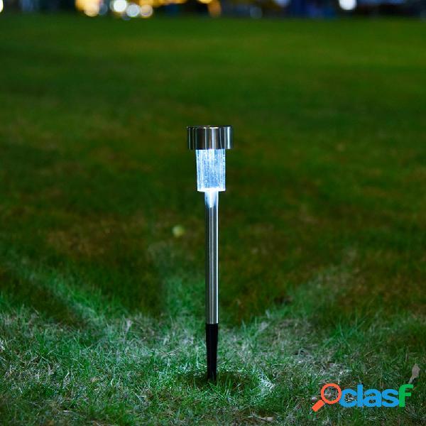 solare Pannello LED Spike Spot Lightt Landscape Giardino