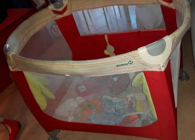 Box lettino Zoom Safety 1st + materasso per dormire