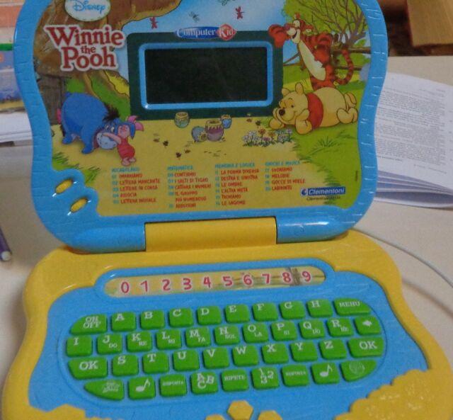 Computer Kid Winnie the Pooh Disney Clementoni.
