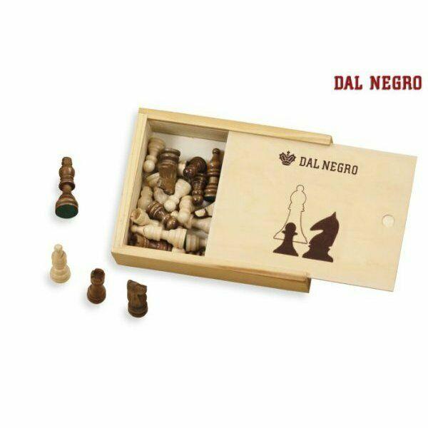 Dal negro set scacchi legno mm.