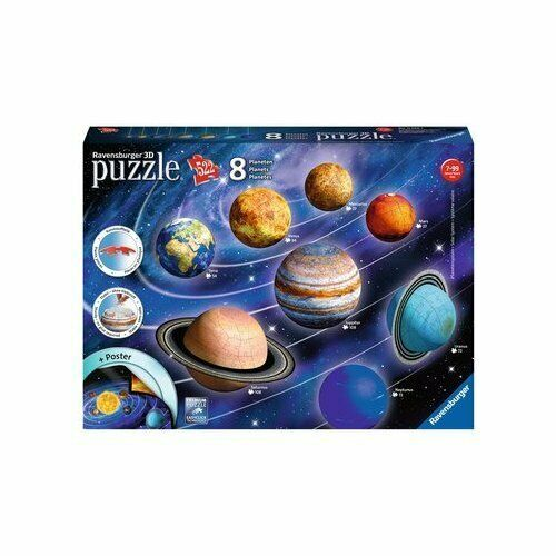 Ravensburger - Puzzle 3d Sistema Planetario