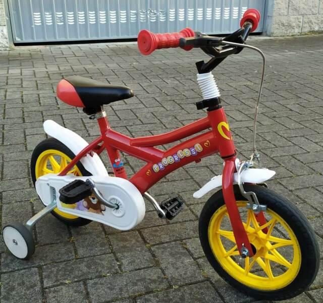 Bici bimbo dai 2 a 3 anni e mezzo con rotelle