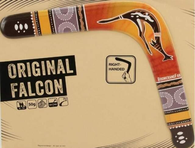 Boomerang Falcon Original Legno HQ