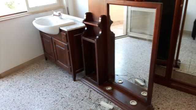 Mobile bagno completo in legno massello