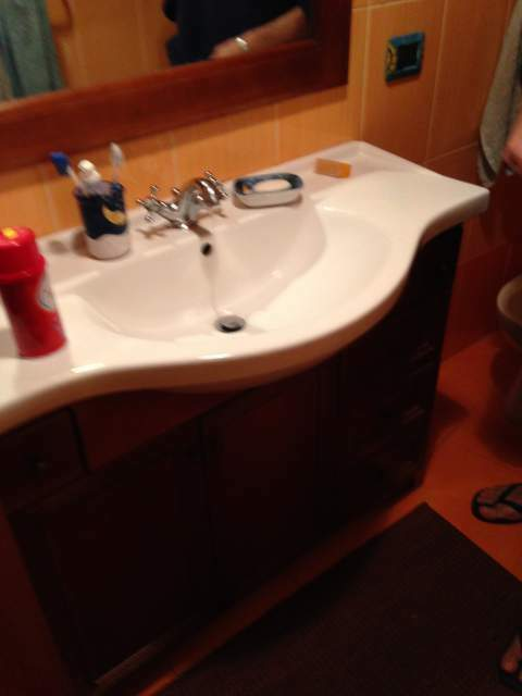 Mobile da bagno (due) completi