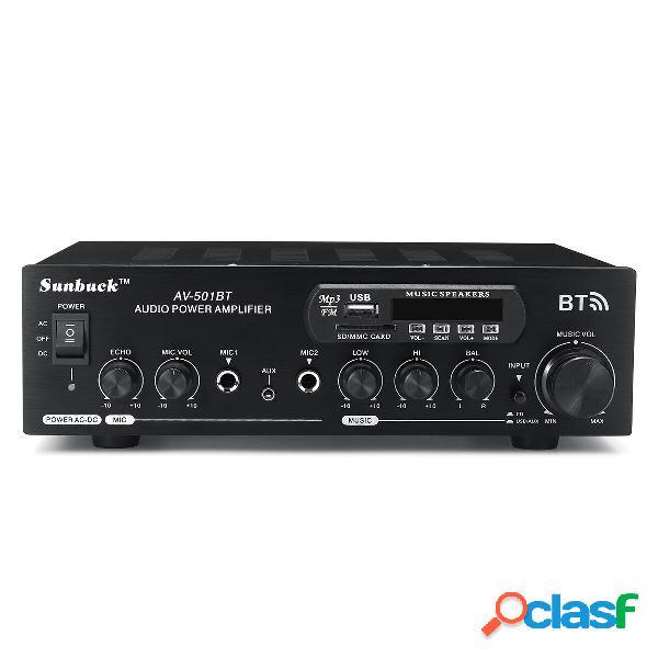 1200 W 110 V / 220 V bluetooth Dual Channel Karaoke Ingresso