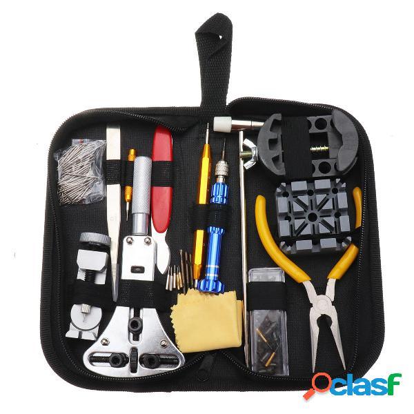 168Pcs Set di strumento di riparazione Orologio Orologio Kit