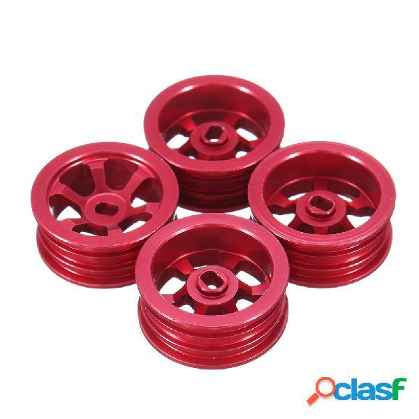 4 pezzi Wltoys K969 K979 K989 1/28 cerchioni in metallo
