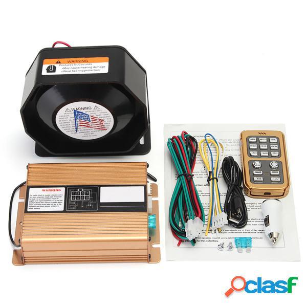 400W 8 Sistema MIC di altoparlante del suono della sirena