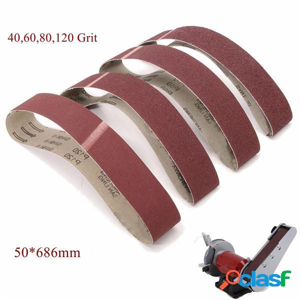 50x686mm 40 60 80 120 grana levigatura strumento abrasivo