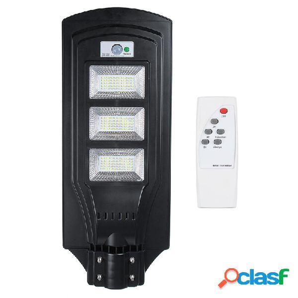 6000K 40 W / 80 W / 120 W LED solare Lampione lampada PIR