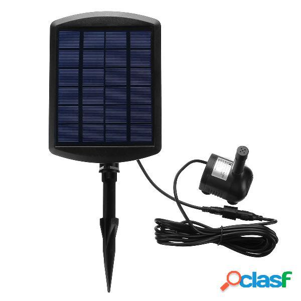 6V 1.8W solare Pompa a pompa per acqua alimentata da