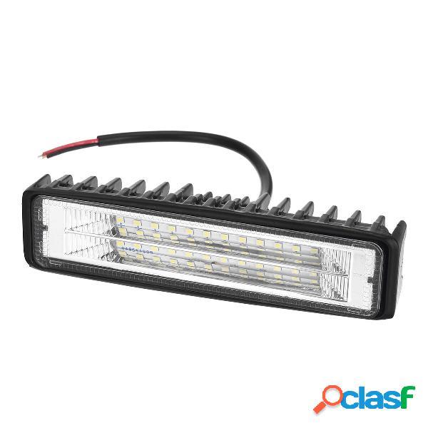 72W doppia fila LED fari da lavoro fendinebbia 9-32 V per