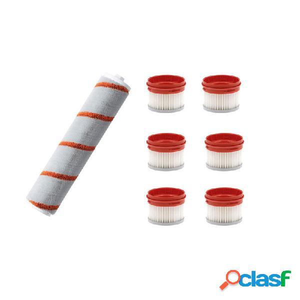 7PCS Rullo Spazzole Sostituzioni filtro per aspirapolvere
