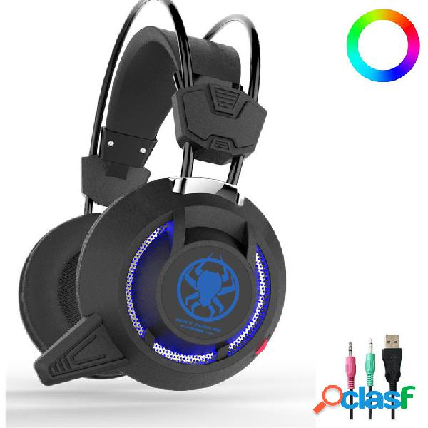 808.910 PC835 50mm Driver Unit luce a led Gaming Headset