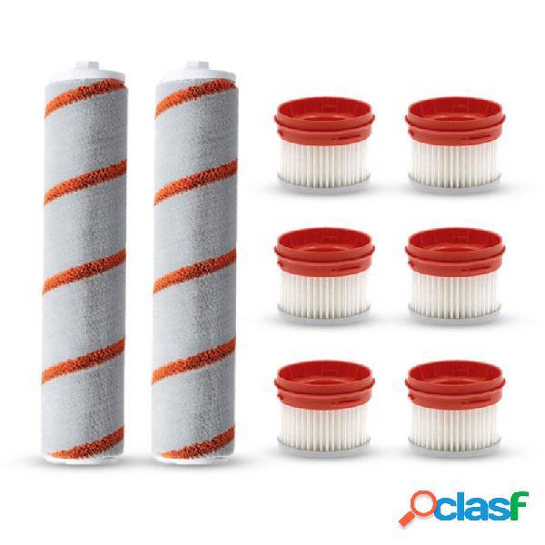 8PCS Roller Spazzole Sostituzioni del filtro per Xiaomi