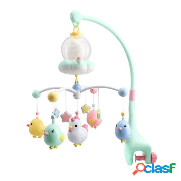 Baby Mobile Culla Bed Bell Electric Canzone Scatola